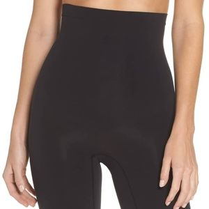 Spanx Higher Power Mid Thigh Shaping Shorts E